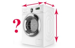 Размеры стиральной машины