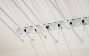 Инструкция по установке потолочной сушилки-лиана